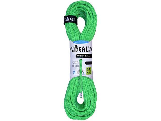 Beal Opera Cuerdas de escalada 8,5mm 60m, gd green